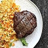 Whole30 Top Sirloin Steak With Zesty Cauliflower Rice