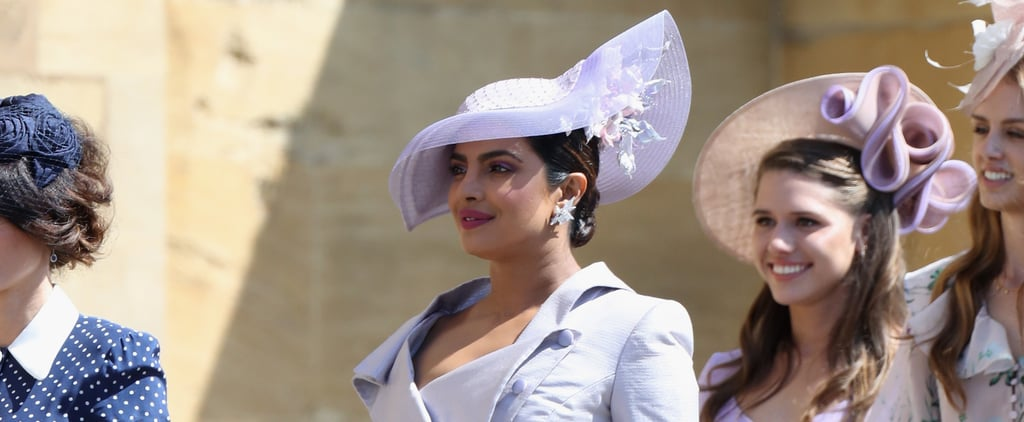 Priyanka Chopra's Shoes at Royal Wedding 2018