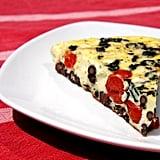 Vegetarian: Red, White, Bean, and Basil Frittata