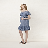 Chambray Off-the-Shoulder Dress ($44)
