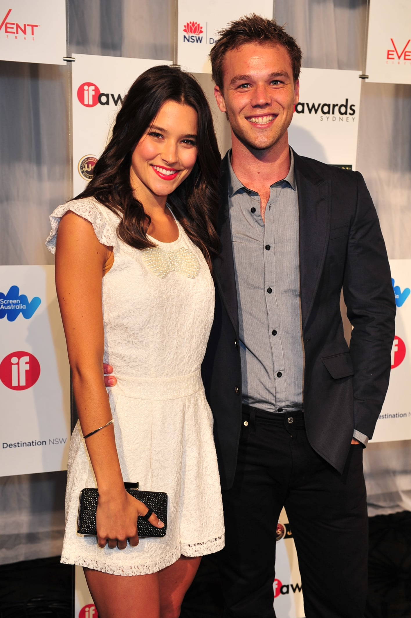 Rhiannon Fish and Lincoln Lewis