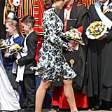 Princess Eugenie at the Royal Maundy Service in 2019