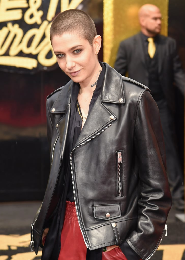 Asia Kate Dillon Celebrity Hair And Makeup At 2017 Mtv