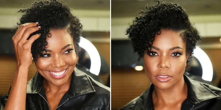 Gabrielle Union's Natural Hair Video on Instagram