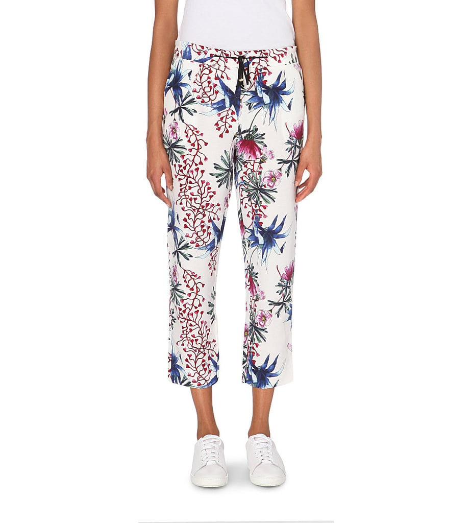Maje Paolo Printed Linen-Silk Trousers ($305)