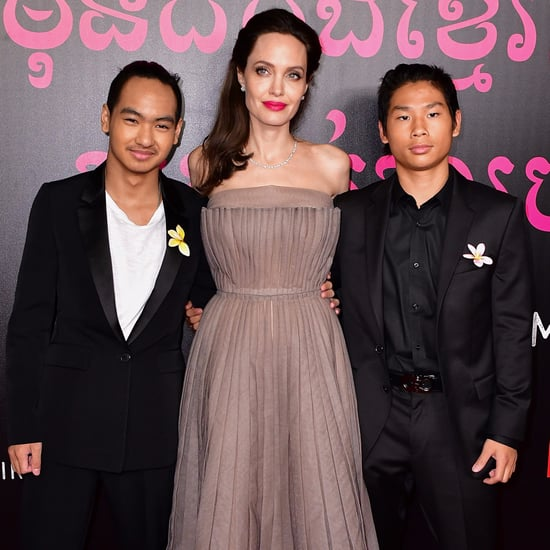Angelina Jolie With Her Kids on the Red Carpet in NYC 2017