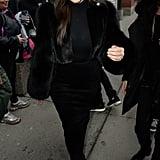 What Does Khloé Think of Kim Kardashian's Fur?