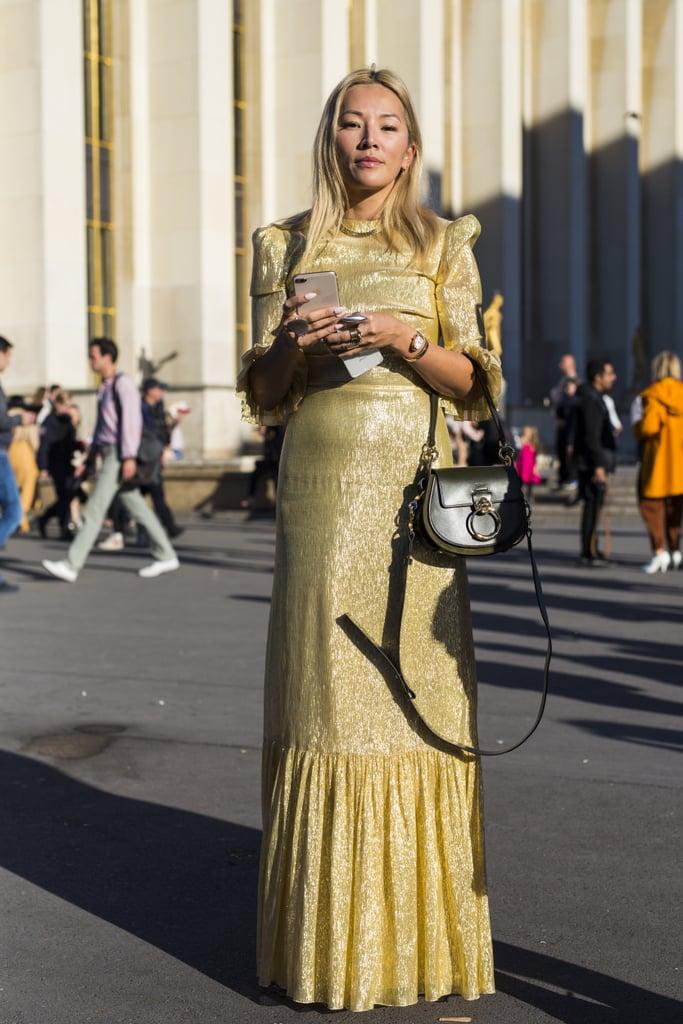 A Gold Dress