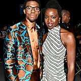 Pictured: Chadwick Boseman and Danai Gurira
