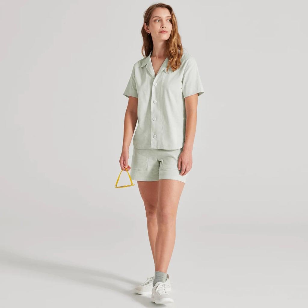 Allbirds Camp Shirt and Shorts