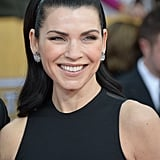 Julianna Margulies Wears Black and White For Her SAGs Night