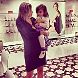 Arabella Kushner popped into her mom Ivanka Trump's shoe design meeting to offer her advice. Source: Instagram user invankatrump