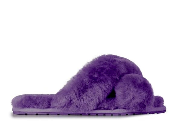 EMU Australia Mayberry Purple Slippers