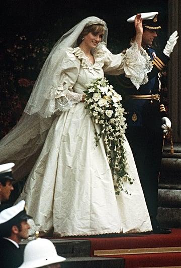 Princess Diana's Wedding Dress Display at Kensington Palace