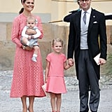 Princess Estelle Matches Crown Princess Victoria