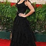 Penelope Cruz in Chanel in 2007.