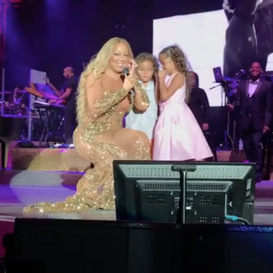 Mariah Carey Singing With Her Kids on Stage