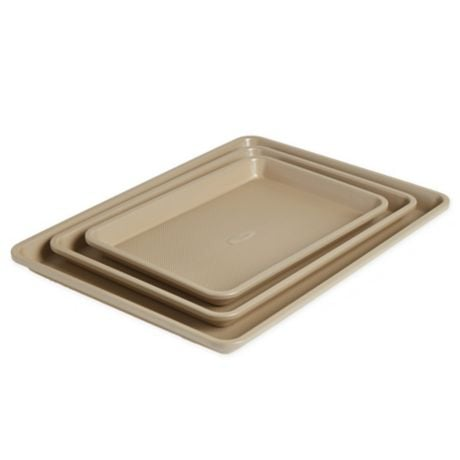 Our Table™  3-Piece Textured Jelly Roll Pan Set