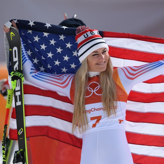 Lindsey Vonn Reacts to Winning Bronze in Downhill