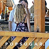 Tom Sturridge and Sienna Miller took baby Marlowe on a getaway to Positano.