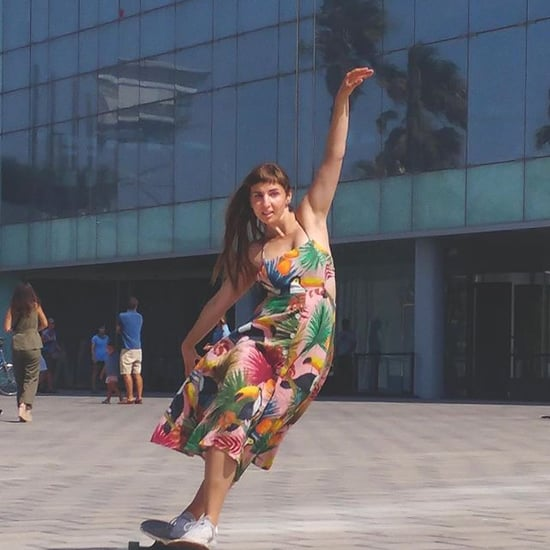 Watch Giulia Alfeo's Mesmerizing Longboard-Dancing Clips
