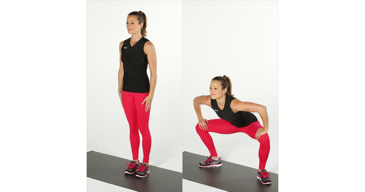 Gate swings plyometric workout for women popsugar