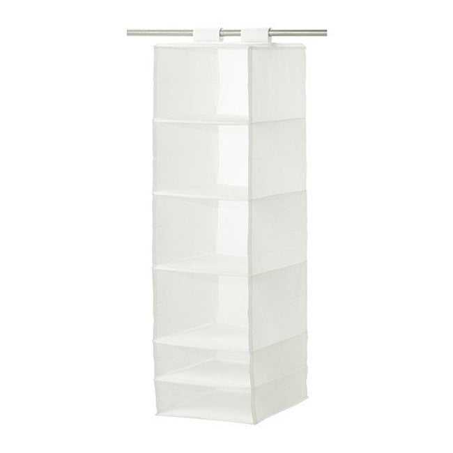 Closet organization products from ikea popsugar home for Hanging organizer ikea