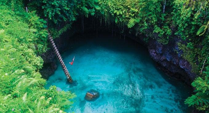 Dive Into an Amazing Swim Hole