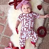 Love Romper Onesie Outfit