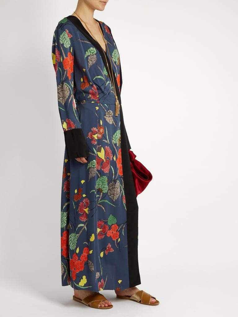 f877db0339764a Diane von Furstenberg Ampère-Print Stretch-Silk dress   Bedroom ...