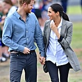 Meghan Markle Wears Serena Williams Collection Jacket 2018