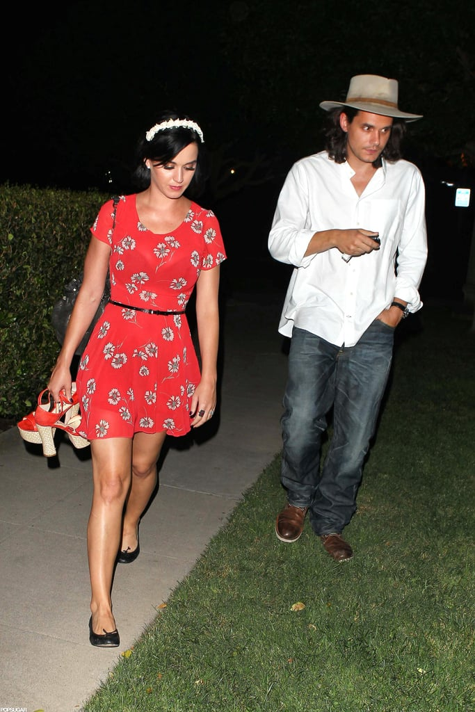 Katy Perry and John Mayer were out and about together in LA.