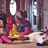 """This Photo Series Shows How Adopting a Dog Totally """"Changes"""" a Family For the Better"""