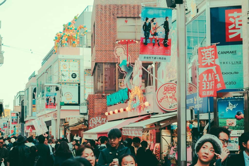 Takeshita Street in the Harajuku District