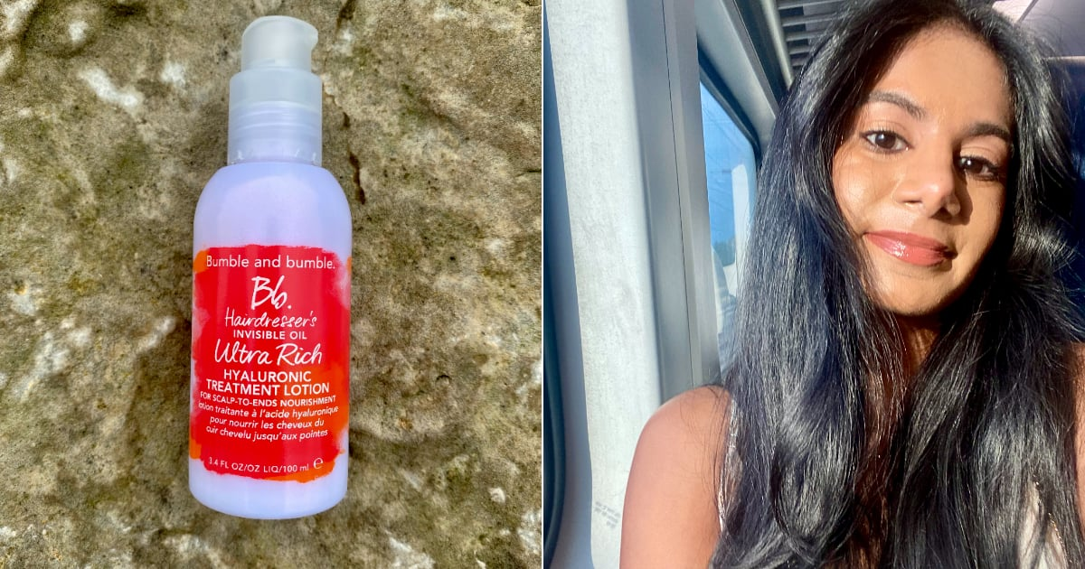 My Hair Felt Softer Than a Silk Pillowcase After Using Bumble and Bumble's New Leave-In