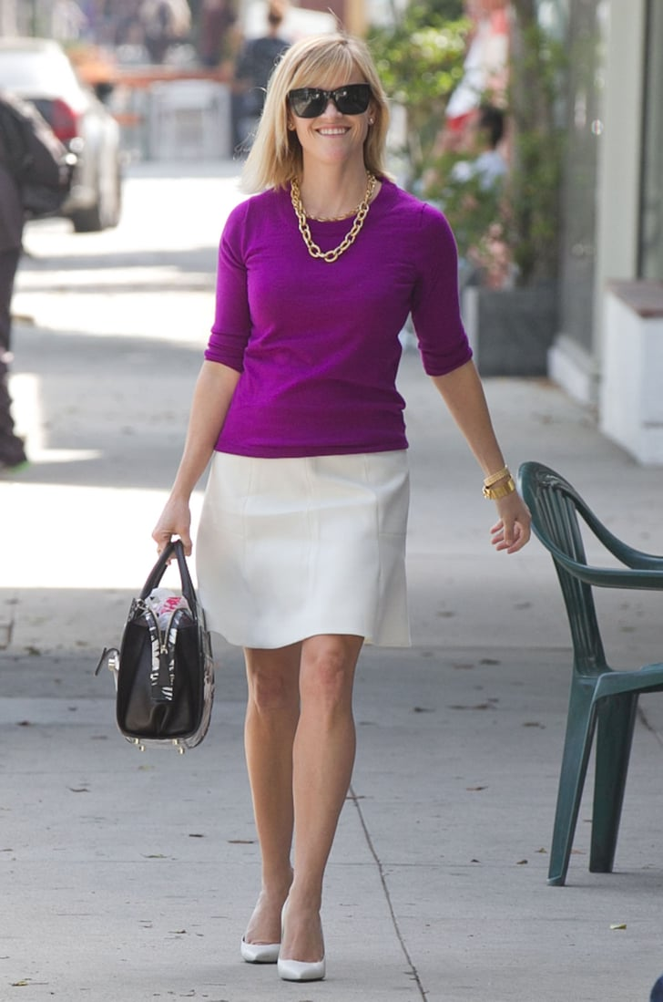 Reese Witherspoon looked ready for business when she went on a Thursday errand run in Beverly Hills.