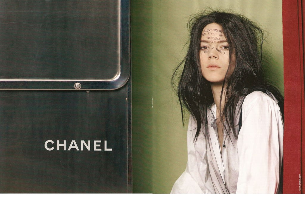 Freja Beha Erichsen Gets Catty For Chanel's A/W Campaign