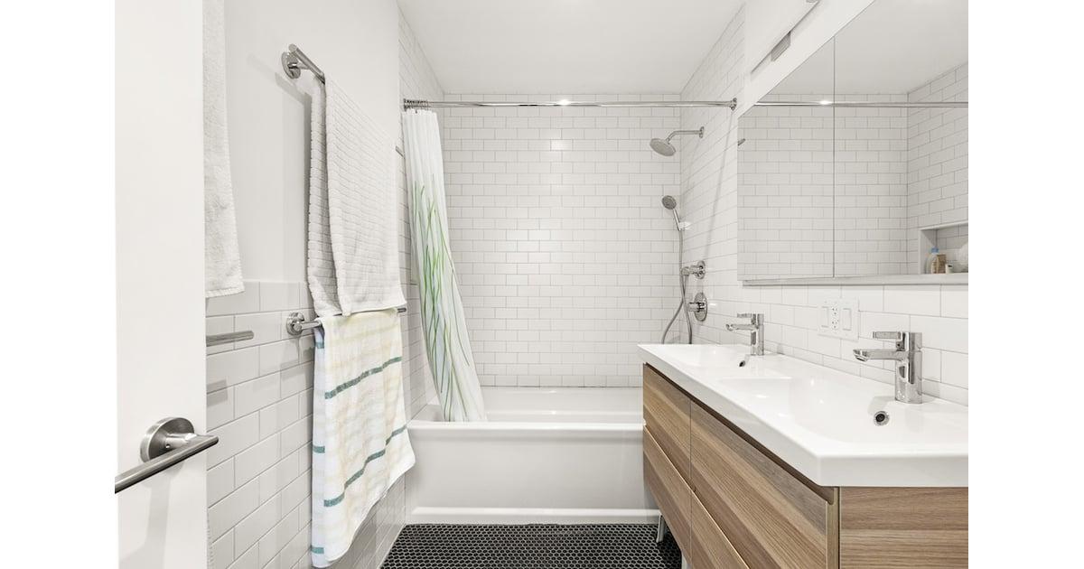Double Vanity Bathroom | Ikea Bathroom Ideas | POPSUGAR ...