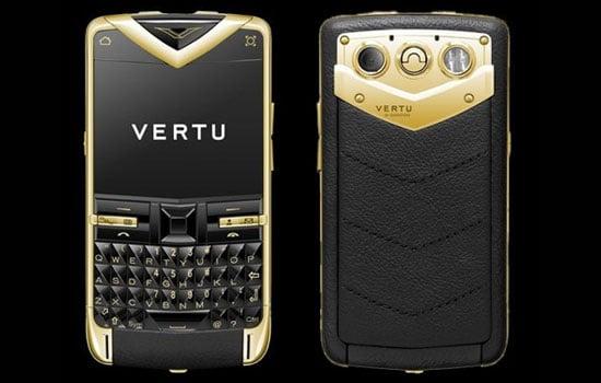 Vertu Gold Phone