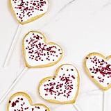 Heart-Shaped Vegan Cookies