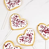 Vegan: Heart-Shaped Vegan Cookies