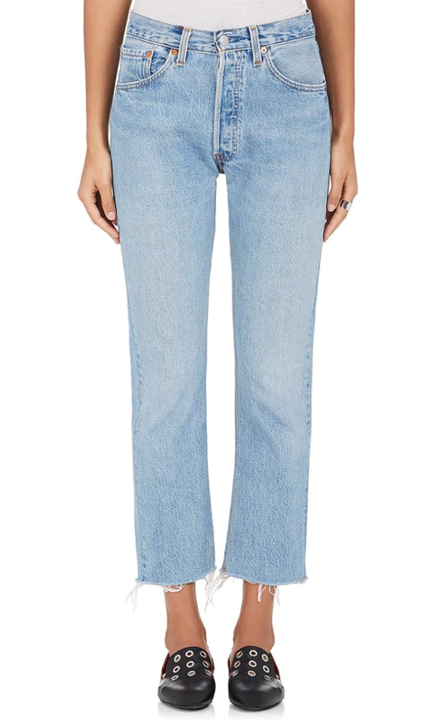 Re/Done Crop Flare Jeans
