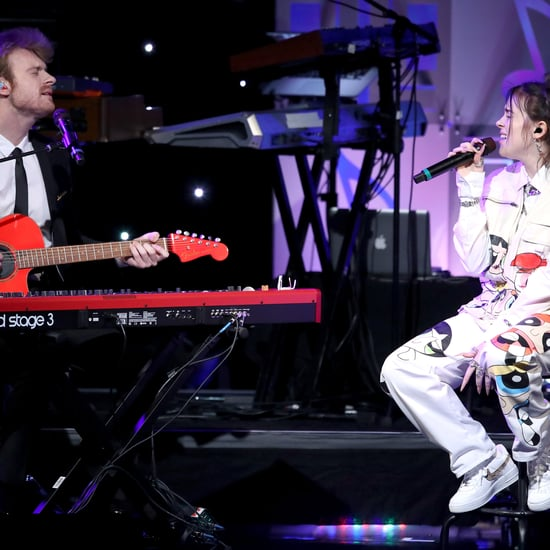 Pictures of Billie Eilish and Finneas O'Connell