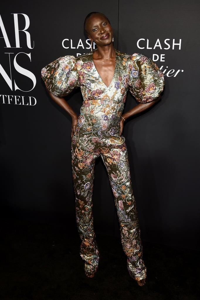Alek Wek at the Harper's Bazaar ICONS Party During New York Fashion Week