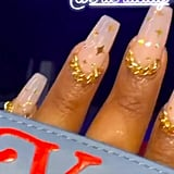 Lizzo's Star Chain Nail Art