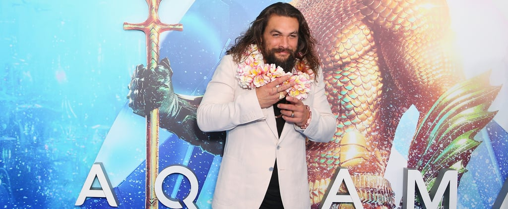 Jason Momoa Hair Accessory Oscars 2019