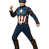 Kids Captain America Deluxe Costume From Avengers: Endgame