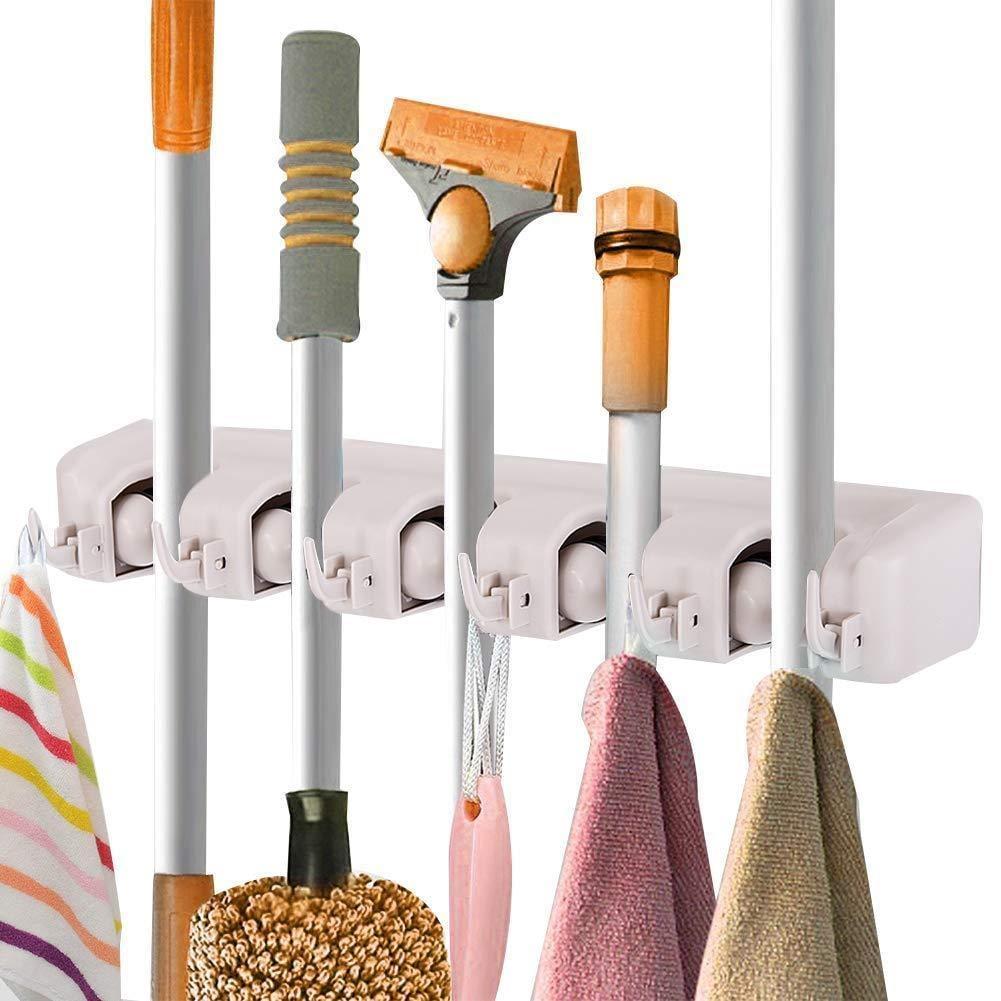 Costway Mop Holder Hanger