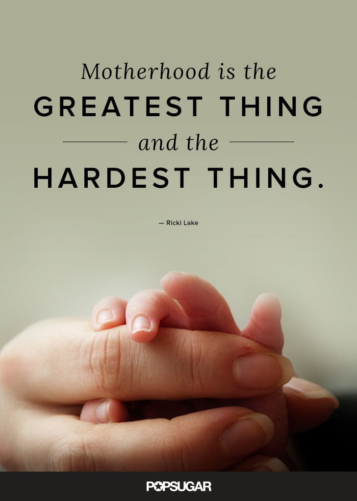 Beautiful Motherhood Quotes For Mothers Day