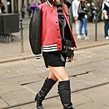 Street Style Trends at Fashion Week Spring 2015
